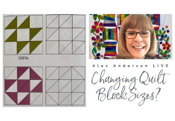 Changing Quilt Block Sizes