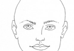 Drawing Faces on Fabric - Part 1