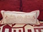 Alex Anderson - Love Thy Neighbor Redwork Pillow