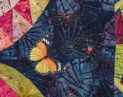 Madame Butterfly by Marilyn Badger - Detail 6 (Photo from Marilyn Badger Website)