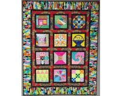 Ava's Dream Quilt by Ava Barratt (Photo from Virtual Quilt Market Winners 2021 PDF)