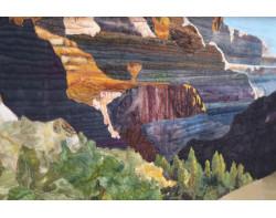 North Rim, Grand Canyon by Sandra Mollon - Detail 2