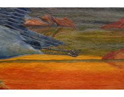 Majestic Flight by Joanne Baeth - Detail 2 (Photo from Joanne Baeth)