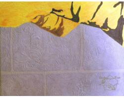 Tiger, Tiger by Kris Vierra - Detail 2 (Photo by Kris Vierra from her website, quilterontherun.com)