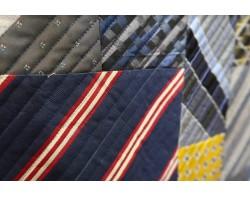 Silk Tie Quilt by Alex Anderson - Detail 2