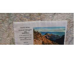 North Rim, Grand Canyon by Sandra Mollon - Label