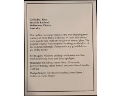 Cathedral Rose by Michelle Bardwell - Sign