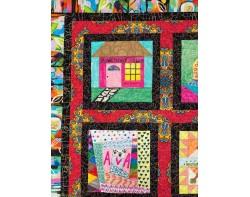 Ava's Dream Quilt by Ava Barratt - Detail (Photo from Virtual Quilt Market Winners 2021 PDF)
