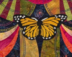 Madame Butterfly by Marilyn Badger - Detail 4 (Photo from Marilyn Badger Website)