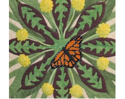 Heralds of Spring by Joann Webb - Detail 1 (Photo from Gail Garber Quilting Blog atgailgarber.com)