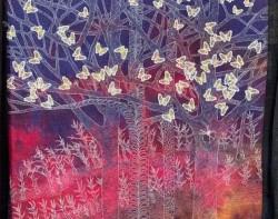 WhiteTrees_ButterfliesbyNorikoEndo