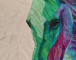 Take Dream as a Horse by Jing Chen - Detail 1