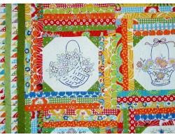 Baskets by Diana Roberts - Detail (Photo from Artquiltmaker Blog atartquiltmaker.com)