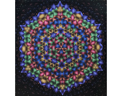 Fireworks by Peter Hayward (Photo from Peter Hayward website,accidentalquilter.com)