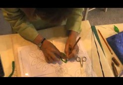 Machine and Hand Appliqué - Lesson 08 - Leaves