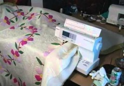 Free Motion Quilts - Beginner - Lesson 03 - Managing Quilt Movement