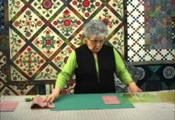 Sharon Pederson - Lesson 2 - Cutting a Square