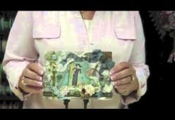 Embellished Vintage Style Postcard - Helen Gibb - Introduction