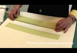 Contemporary Quilt Sampler with Laura Nownes - Resource Guide 03 - Pressing
