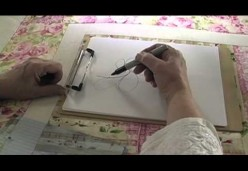 Longarm Quilting - Lesson 06 - Stitch in the Ditch and Freehand Border