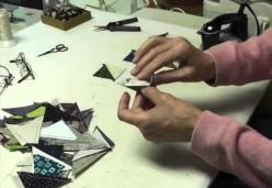 Margo Clabo's Classroom - Tip 06 - Preparing Half-Square Triangles