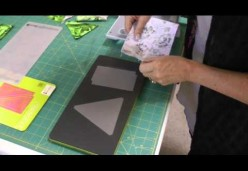 Holiday Lights Quilt - Lesson 03 - Die Cutting the Tree Blocks