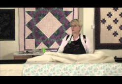 Longarm Quilting - Lesson 04 - Loading the Lining (Backing) and the Batting