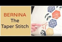 Taper Stitch