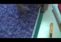 Quilt Piecing 101 - Lesson 04 - Fabric Grains