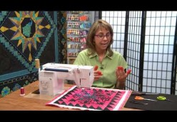 30 Tips and Tricks for Better Machine Quilting with Cindy Seitz-Krug - Tip 09 - Thread Tail Savvy