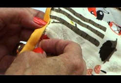 Quilt Tips, Tricks, & Techniques with Julie Cefalu - Binding 04 - Hand Binding