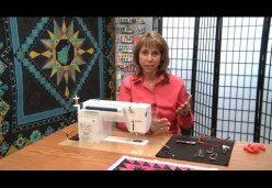 30 Tips and Tricks for Better Machine Quilting with Cindy Seitz-Krug - Tip 04 - Line Up Straight