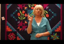 Rajah Quilt Revisited BOM 2016 Month 09 - Attaching Borders