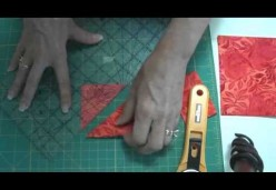 Quilt Piecing 101 - Lesson 08 - Cutting You First Half-Square Triangle