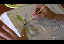 How to Create a Contemporary Batik - Lesson 03 - Apply Color