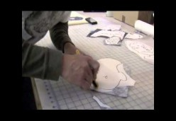 Portrait Quilts - Lesson 03 - Tracing and Fusing the Pieces