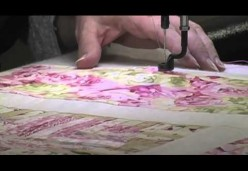 Longarm Quilting - Lesson 05 - Securing the Layers