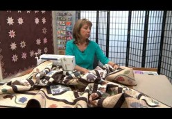 30 Tips and Tricks for Better Machine Quilting with Cindy Seitz-Krug - Tip 02 - Keep it in Place