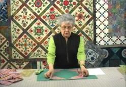 Sharon Pederson - Lesson 3 - Cutting Striped Triangles - Part 1