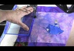 Longarm Quilting - Lesson 10 - Princess Wallhanging Part 01 - Getting Started