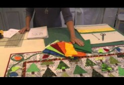 Holiday Lights Quilt - Lesson 08 - Applique Border & Quilting