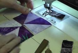 Margo Clabo's Classroom - Tip 07 - Using Half-Square Triangles to Make Pinwheel Blocks