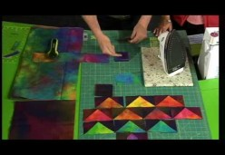Ricky Tims' One-Seam Flying Geese Quilt Block