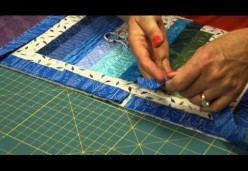 Quilt Tips, Tricks, & Techniques with Julie Cefalu - Binding 02 - Mitered Corners