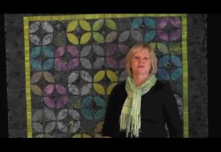 Quilting Design - Lesson 06 - Partial Custom Quilting